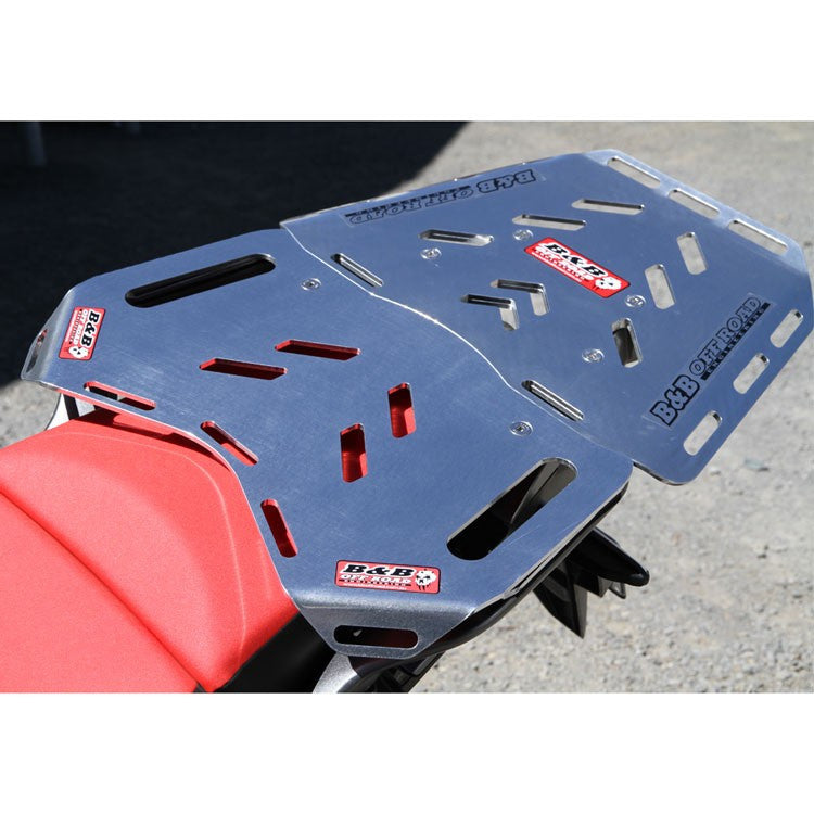 B & B Off Road Engineering - Rear Luggage Plate - Honda CRF1000L Big Tour with Maxi
