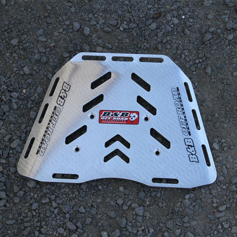 B & B Off Road Engineering - Rear Luggage Plate - Honda CRF1000L Maxi