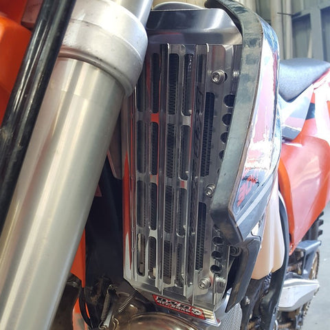 B&B RADIATOR GUARDS - KTM 350 EXC-F & 250/300 EXC 2017