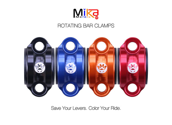 Mika Metals Rotating bar clamps