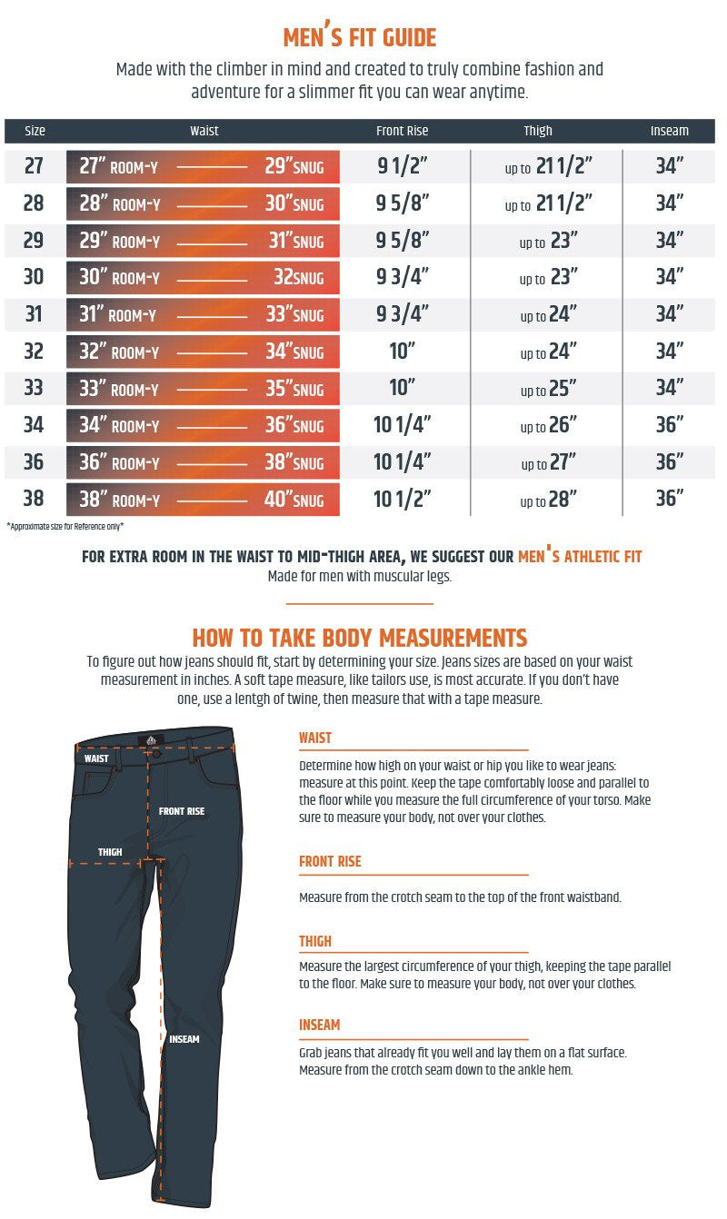 Men's denim size guide | mavi jeans – mavi usa.