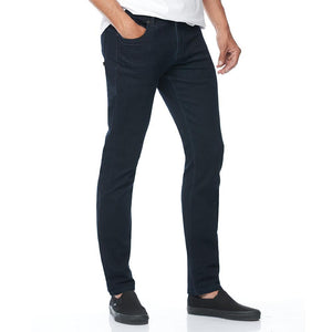 Boulder Denim 2.0 Men's Athletic Fit Jeans in Newmoon Blue Angled