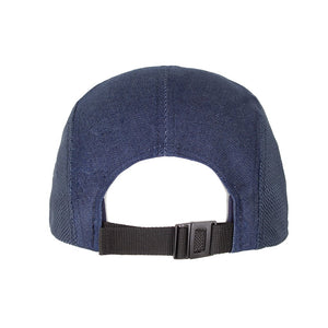 Boulder Denim Blue Denim 5 Panel Hat Back