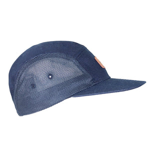 Boulder Denim Blue Denim 5 Panel Hat Side