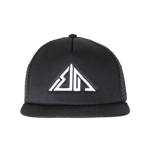 Boulder Denim Black Dreamcatcher Trucker Hat Front