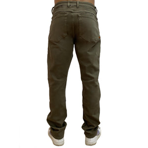 Boulder Denim 2.0 Classic Men's Athletic Fit Olive Back