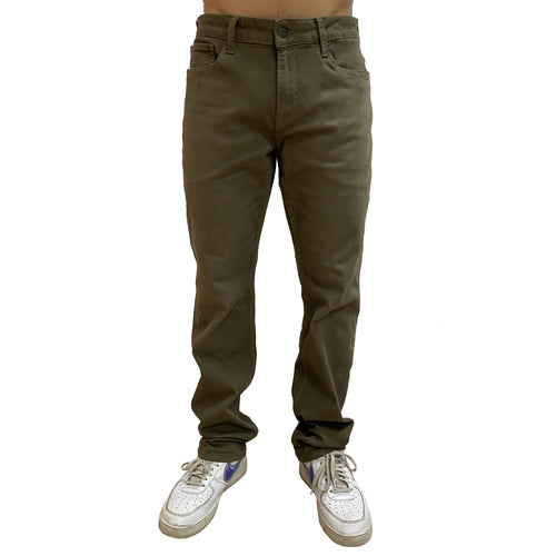 Boulder Denim 2.0 x The Float Life Men's Athletic Fit Olive Front