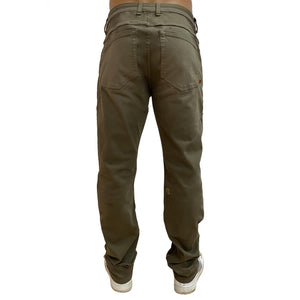 Boulder Denim 2.0 x The Float Life Men's Athletic Fit Olive Back