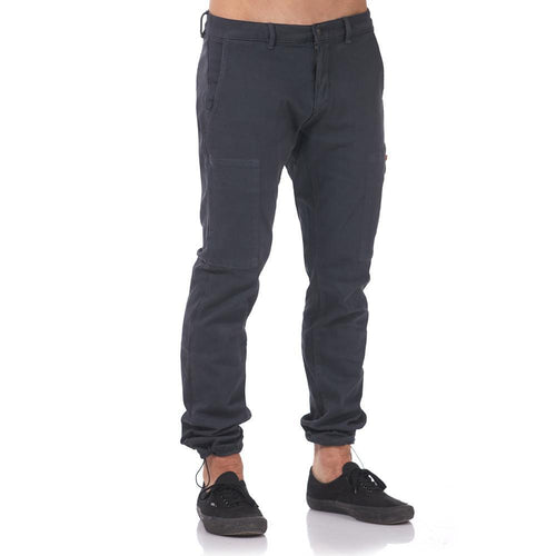 Boulder Denim 2.0 Men's Jogger in Granite Grey Cinched Front
