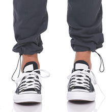 Load image into Gallery viewer, Boulder Denim 2.0 Women's Jogger Granite Grey Cinch Close Up