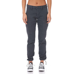 Boulder Denim 2.0 Women's Jogger Granite Grey Front Cinched