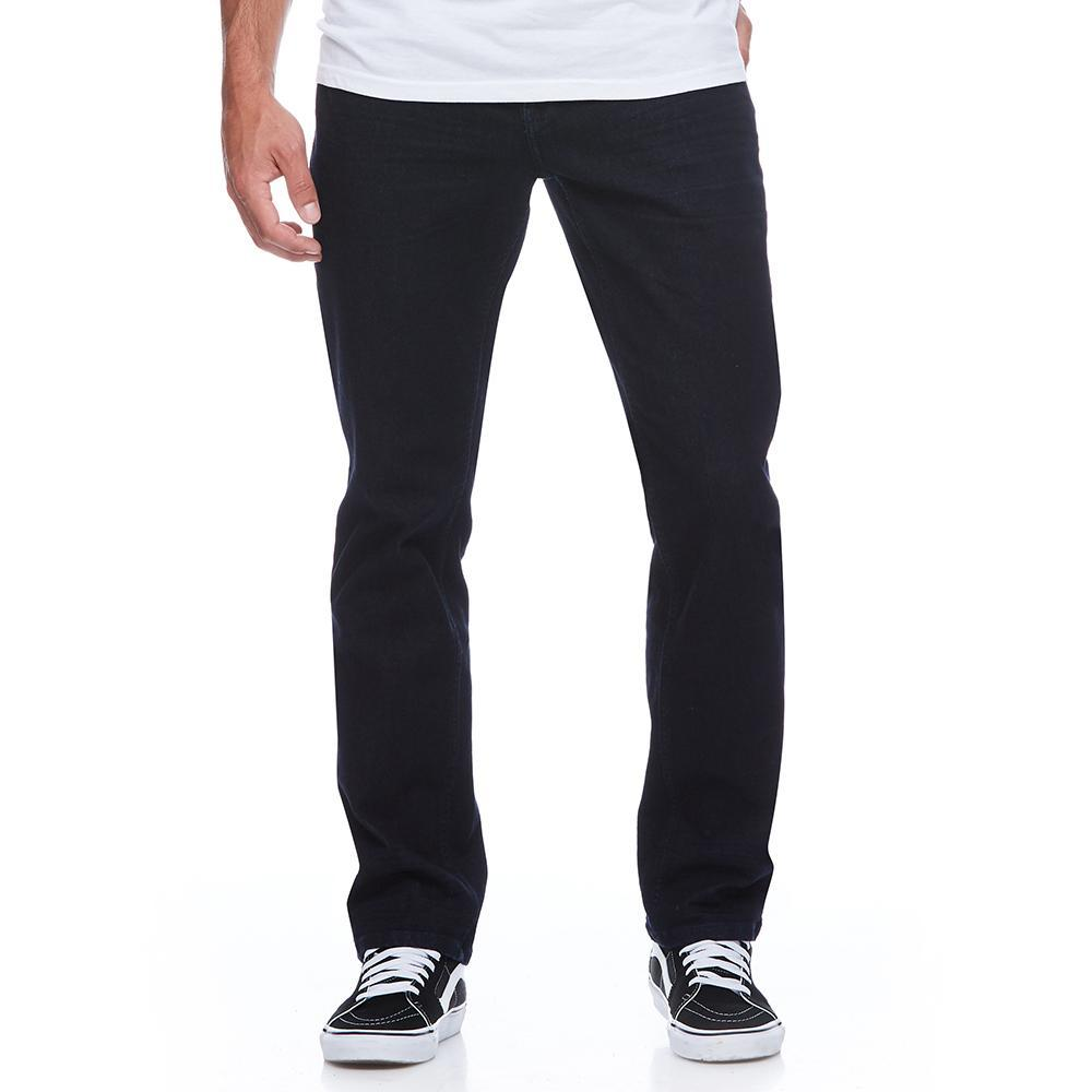 Boulder Denim 2.0 Men's Athletic Fit Jeans in Pitch Black Front