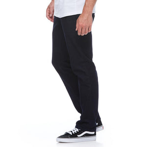Boulder Denim 2.0 Men's Athletic Fit Jeans in Pitch Black Side
