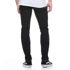 Boulder Denim 2.0 Men's Slim Fit Jeans in Pitch Black Back