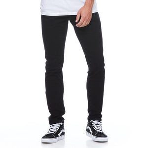 Boulder Denim 2.0 Men's Slim Fit Jeans in Pitch Black Front