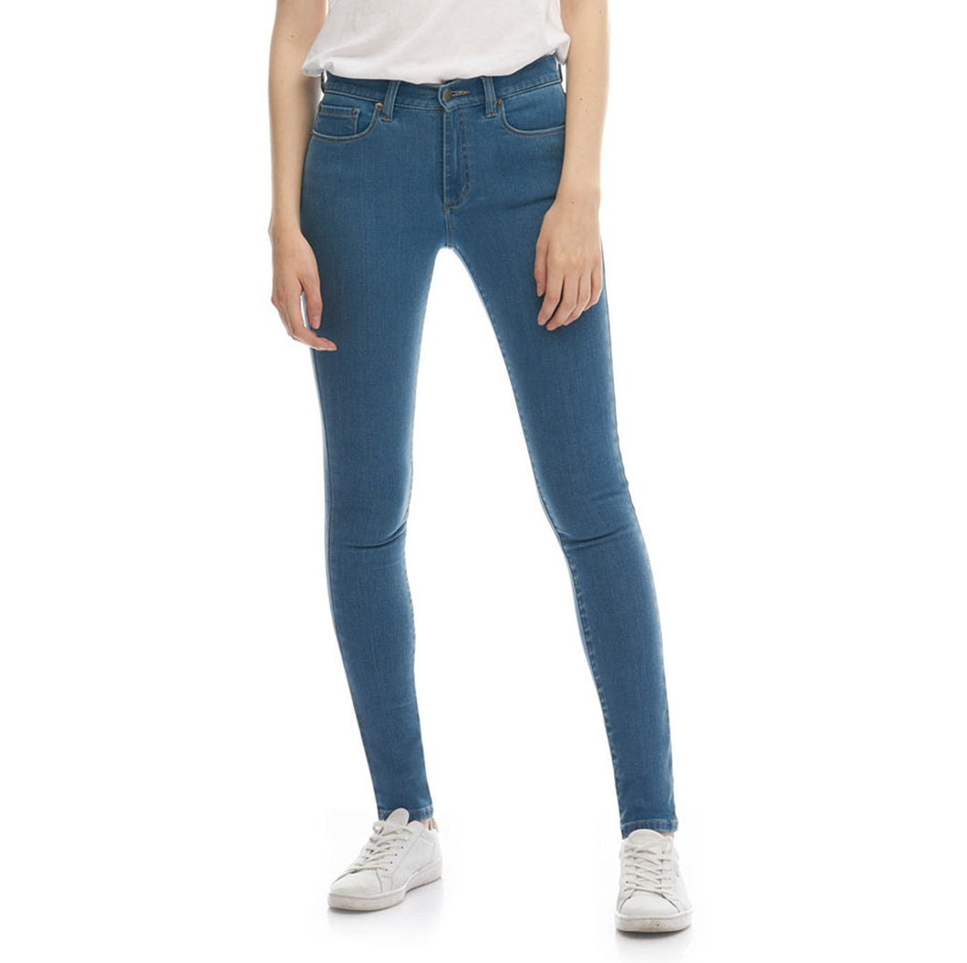 Boulder Denim 2.0 Women's Skinny Fit Jeans in Surf Blue