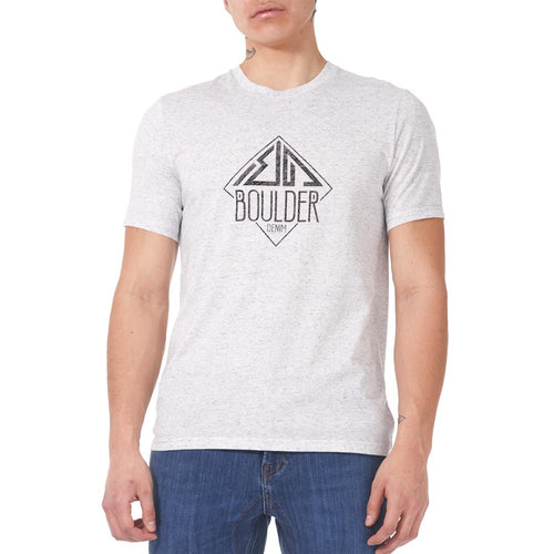 Boulder Denim Men's Light Grey Secret Topo Tee