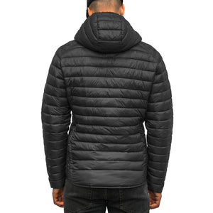 Boulder Denim Men's Puffy Jacket Back in Black