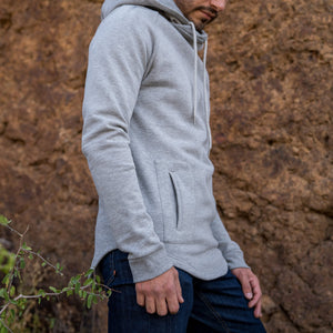 Boulder Denim Men's Hoodie in Gray