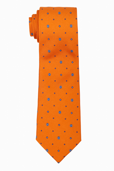 Cravatta In Seta Orange - Fordi