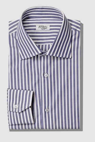 Polo Oxford Righe Blu - Fordi