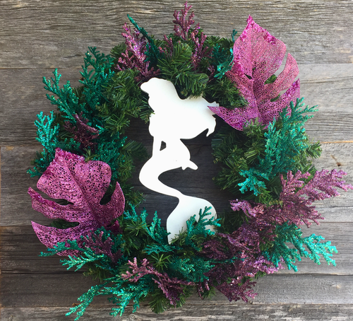 Mermaid Wreath
