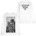 DEATH CASTLE White Long Sleeve