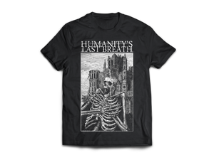 DEATH CASTLE Black T-Shirt