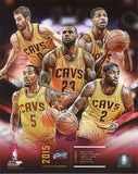 2015-2016 CLEVELAND CAVS NBA CHAMPIONS 2016 COMPOSITE 8X10 TEAM PHOTO - Free Shipping