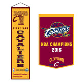 2016 NBA Champions Cleveland Cavaliers NBA Commemorative Pennant Final Champions 2016 2 Pack Bundle - Free Shipping