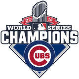 2016 MLB Chicago Cubs World Series Champions Car Home Office Decal Sticker - Free Shipping