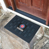 2016 MLB Chicago Cubs World Series Champions Outside Outdoor Waterproof Vinyl Floor Mat - Free Shipping