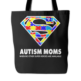 Autism Super Mom Tote - Free Shipping