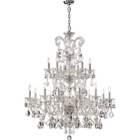 Bohemian Chandelier Home Decor 2 Tier 18 Light Marien Crystal Collection - Free Shipping