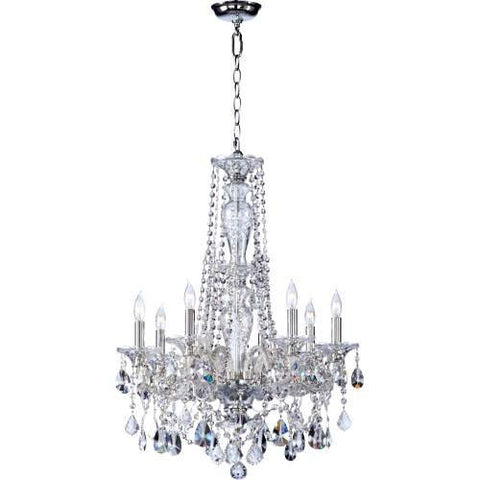 Luxury Chandelier Home Decor 2 Tier Bohemian Marien Crystal Collection - Free Shipping