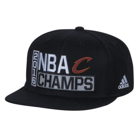 CLEVELAND CAVALIERS NBA CHAMPIONS 2016 LOCKER ROOM HAT CAP CAVS ADIDAS - Free Shipping