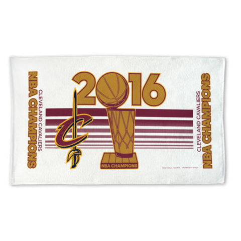 Cleveland Cavalier Official 2016 NBA Finals Champions Cleveland Cavaliers Locker Room Towel - Free Shipping