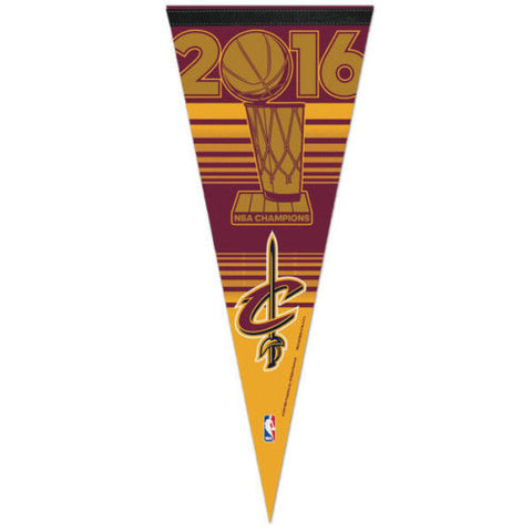 Cleveland Cavaliers Official 2016 NBA Finals Champions Cleveland Cavaliers Premium Pennant - Free Shipping
