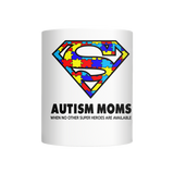 Autism Super Dad & Mom Coffee Mug (11 oz) - Free Shipping