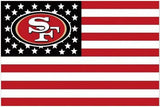 San Francisco 49ers NFL FLAG Stars and Stripes  X5FT 150X90CM