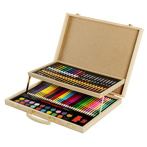 Art 101 Color Pencils Oil Pastels Crayons 108-Piece - Black Friday Cyber Monday - Free Shipping