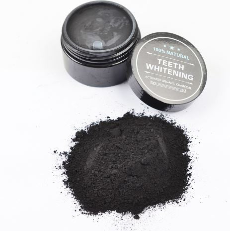 100% Natural Activated Black Charcoal Toothpaste Brighter Smiles