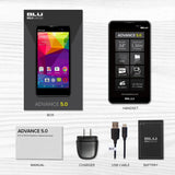 BLU Advance 5.0 - Unlocked Dual Sim Smartphone