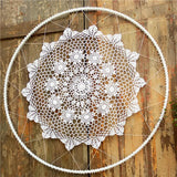 "39"" Floral Bohemian Dream Catcher Wall Hanging Boho Wedding Decor (Designs A-D)"