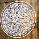 "39"" Floral Bohemian Dream Catcher Wall Hanging Boho Wedding Decor (Designs E-H)"