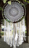 "39"" Bohemian Mandala Dream Catcher Wall Hanging Boho Wedding Decor"