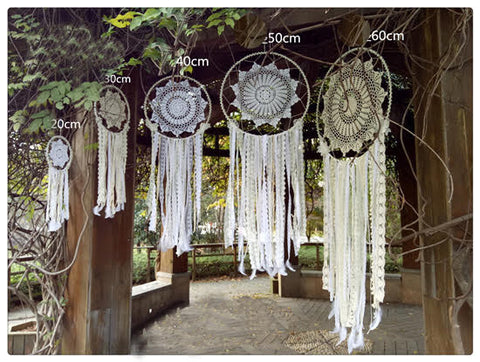 Sun Star Dream Catcher Wall Hanging Boho Wedding Decor (5 Sizes) - Free Shipping