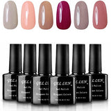 Shellac UV LED Gel Nail Polish, Glitter Set - Black Friday Cyber Monday - Free Shipping