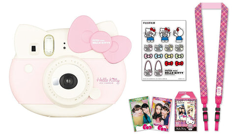 Hello Kitty Fujifilm Instax Mini 8 Camera Black Friday Cyber Monday - Free Shipping
