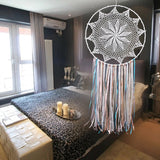"15.6"" Whimsical Bohemian Indian Wall Hanging Boho Wedding Dream Catcher"